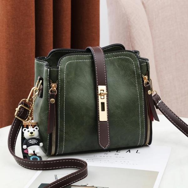上新小包包女包2020新款潮韓版時尚夏季百搭側背斜背包水桶包 新年禮物