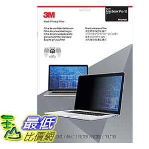 [106美國直購] 3M PFNAP007 螢幕防窺片 (31.7x45.7cm)Privacy Filter for 13吋 Apple MacBook Pro