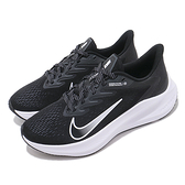 NIKE系列-ZOOM WINFLO 7女款黑色慢跑鞋-NO.CJ0302005