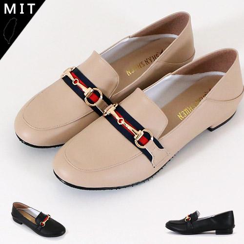 女款 3325台灣製造後踩兩穿樂福鞋 低跟鞋 紳士鞋 後踩拖鞋 59鞋廊