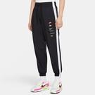Nike NSW Swoosh 女裝 長褲 風褲 休閒 梭織 網布內裡 串標 彩色 黑【運動世界】DA0982-010