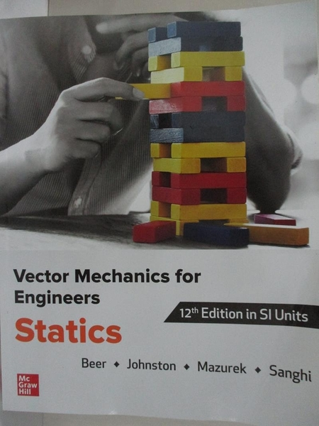 【書寶二手書T1/大學理工醫_I17】Vector mechanics for engineers : statics_Ferdinand