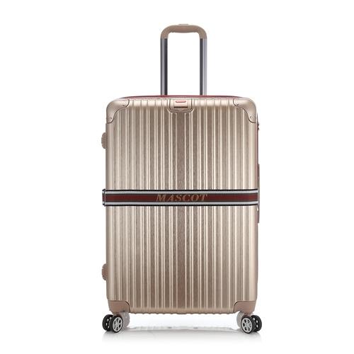 《高仕皮包》【免運費】MASCOT 防爆拉鍊旅行箱28吋.金色MA06A-28-GD(MA094A-28-GD)