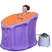 汗蒸箱摺疊蒸汽桑拿浴箱家用浴桶汗蒸箱漢蒸器滿月汗蒸房水迪薰蒸機JD BBJH
