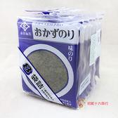 日本零食永井-味付海苔片(8包入)24g【0216零食團購】4904071231096