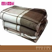 【貝淇小舖】  保暖商品~100%珍珠絨刷毛搖粒加大雙人床包3件組