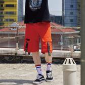 異次元多袋短褲 STAGE DIMENSION CARGO SHORTS 黑色/橘色 兩色