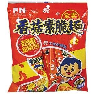 嘉南食品 香菇素脆麵 240g【康鄰超市】