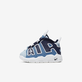 Nike Air More Uptempo TD [CK0825-404] 小童鞋 運動 休閒 慢跑 輕量 透氣 藍