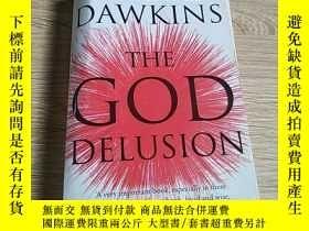 二手書博民逛書店The罕見god delusion上帝的幻想Y212829