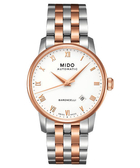 MIDO 美度 Baroncelli 復刻羅馬機械手錶-半金 M86009N61