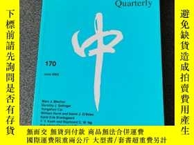 二手書博民逛書店The罕見China Quarterly 170Y250169 出版2002