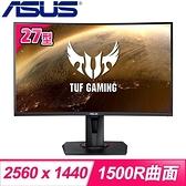 【南紡購物中心】ASUS 華碩 TUF Gaming VG27WQ 27型 2K曲面電競螢幕