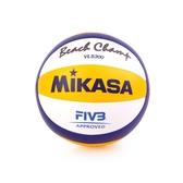 MIKASA 手縫沙灘排球 (免運 5號球 FIVB指定球 海邊≡排汗專家≡