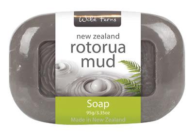 羅托魯瓦火山泥潔膚皂95g 逆齡奇蹟 香皂  肥皂 Wild Ferns