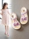 女童涼鞋 女童夏季涼鞋2020新款時尚中大童公主兒童鞋子軟底小童小女孩童鞋【快速出貨】