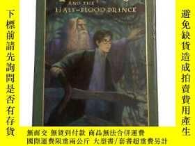 二手書博民逛書店哈利波特與混血王子美國豪華版Harry罕見Potter and the half-blood prince del