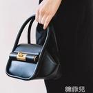 水桶包 小眾設計個性幾何形手拎包新款網紅鎖扣時尚百搭單肩斜背包女 韓菲兒