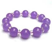 水晶 紫玉髓手鏈