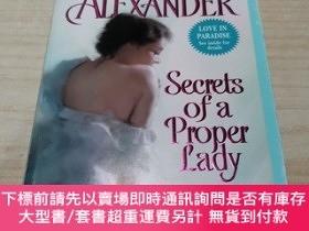 二手書博民逛書店Secrets罕見of a Proper Lady (Last Man Standing, Book 3)[女士的