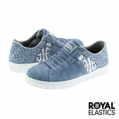 Royal Elastics Icon Washed 經典運動-水洗丹寧x花朵刺繡