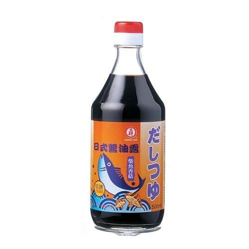 工研日式醬油露(柴魚香菇)500ml【愛買】
