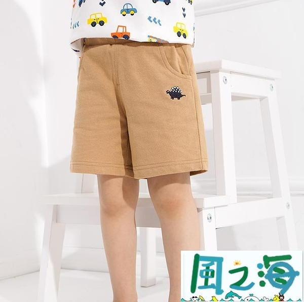 兒童短褲 男童運動短褲童裝寶寶兒童中褲子潮嬰兒褲子夏裝夏季【風之海】