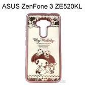 美樂蒂電鍍軟殼 [兔子] ASUS ZenFone 3 ZE520KL (5.2吋)【三麗鷗正版授權】