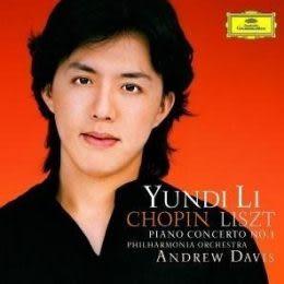 李雲迪 蕭邦 李斯特: 第1號鋼協琴曲 CD (音樂影片購)
