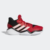 Adidas Harden Stepback J [EF9904] 大童鞋 運動 籃球 透氣 緩衝 彈跳 愛迪達 紅白