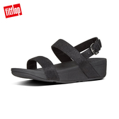 FitFlop】 GLITZY BACK-STRAP SANDALS 經典水鑽後帶涼鞋-女(黑色)