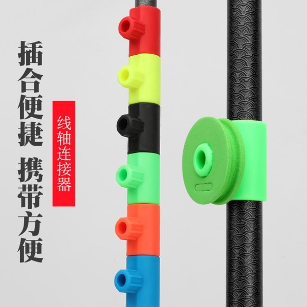釣魚捲線器 魚竿繞線卡夾魚線板收線器纏線板通用硅膠繞線盤釣魚用品漁具配件 ww