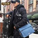【TROOP】經典品格CLASSIC單肩包/TRP0241BL(藍色)