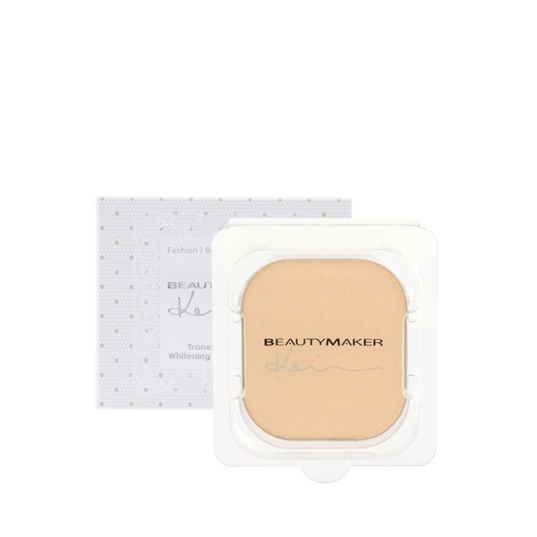BEAUTYMAKER 傳明酸美白防曬柔膚粉餅SPF50+**粉膚(替換芯)-9g