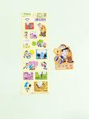 【震撼精品百貨】Doraemon_哆啦A夢~哆啦A夢漫畫貼紙-黃底#79257