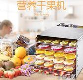 乾果機 樂創水果烘乾機食品家用小型食物蔬菜肉類風乾機乾果機脫水機商用LX 智慧e家