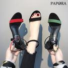 PAPORA性感細中跟鞋KE318紅/黑/綠