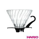 《HARIO》V60黑色02玻璃濾杯 V...