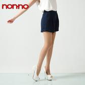 NON-NO 彈性褲襪-黑/膚(3入裝)【愛買】