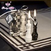 浪漫創意婚禮回國際象棋國王與皇後生日蠟燭送女朋友新婚交換禮物限時特惠下殺8折