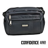 包包 斜背包  Confidence 高飛登 1251 氣質灰 (福利品)