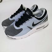 【NG出清】Nike 休閒慢跑鞋 Air Max Zero Essential 白 灰 右腳中底發黃 氣墊 運動鞋 男鞋【PUMP306】