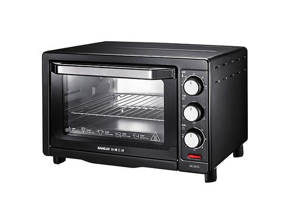 SANLUX 三洋 26L 電烤箱 SK-26TC /雙層強化玻璃門
