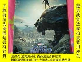 二手書博民逛書店黑豹罕見Black Panther 電影場刊 漫威Y178456