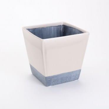 諾曼方形陶盆 灰