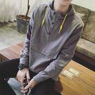 早秋季連帽連帽T恤男春秋款套頭韓版潮寬鬆帽衫長袖學生上衣男士外套 台北日光