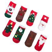 聖誕主題加厚毛圈保暖襪禮盒4入組 聖誕 主題 加厚 保暖 襪子 保暖襪 禮盒