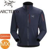 【ARC TERYX 始祖鳥 男 Gamma MX 軟殼外套《上將藍》】19276/保暖外套★滿額送