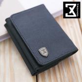 74盎司 皮夾 FIT時尚系列-防潑水時尚三折短夾/零錢包[N-481-FI] (短夾)