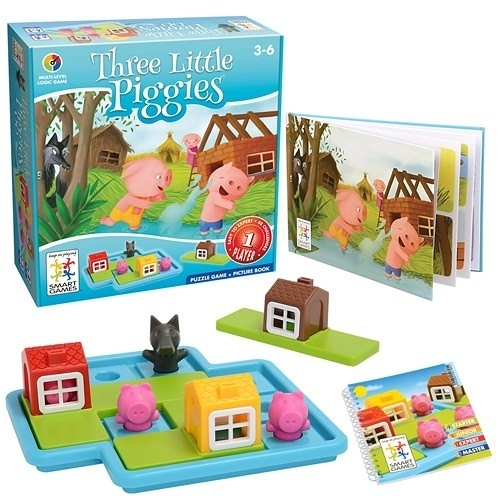 《 信誼 - Smart Games 》三隻小豬  /  JOYBUS玩具百貨